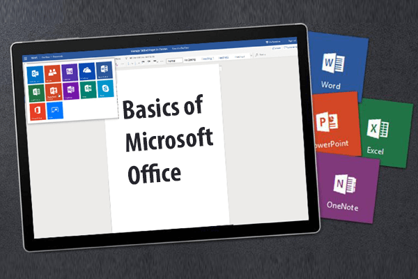 Basics of Microsoft Office